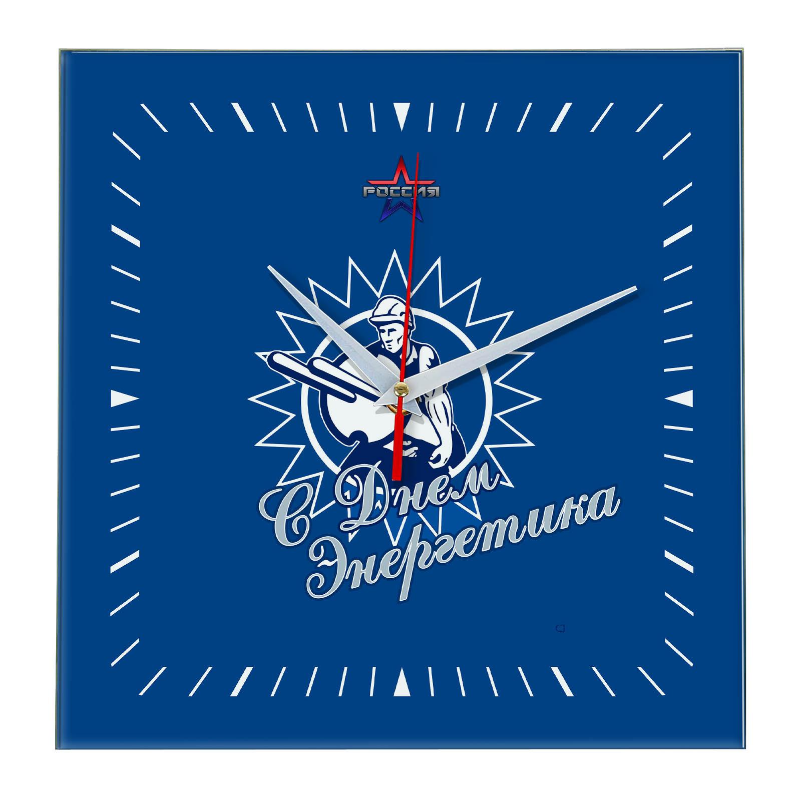 Настенные часы «den_energetika_01»