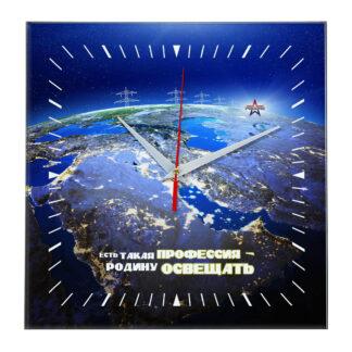 Настенные часы «den_energetika_03»