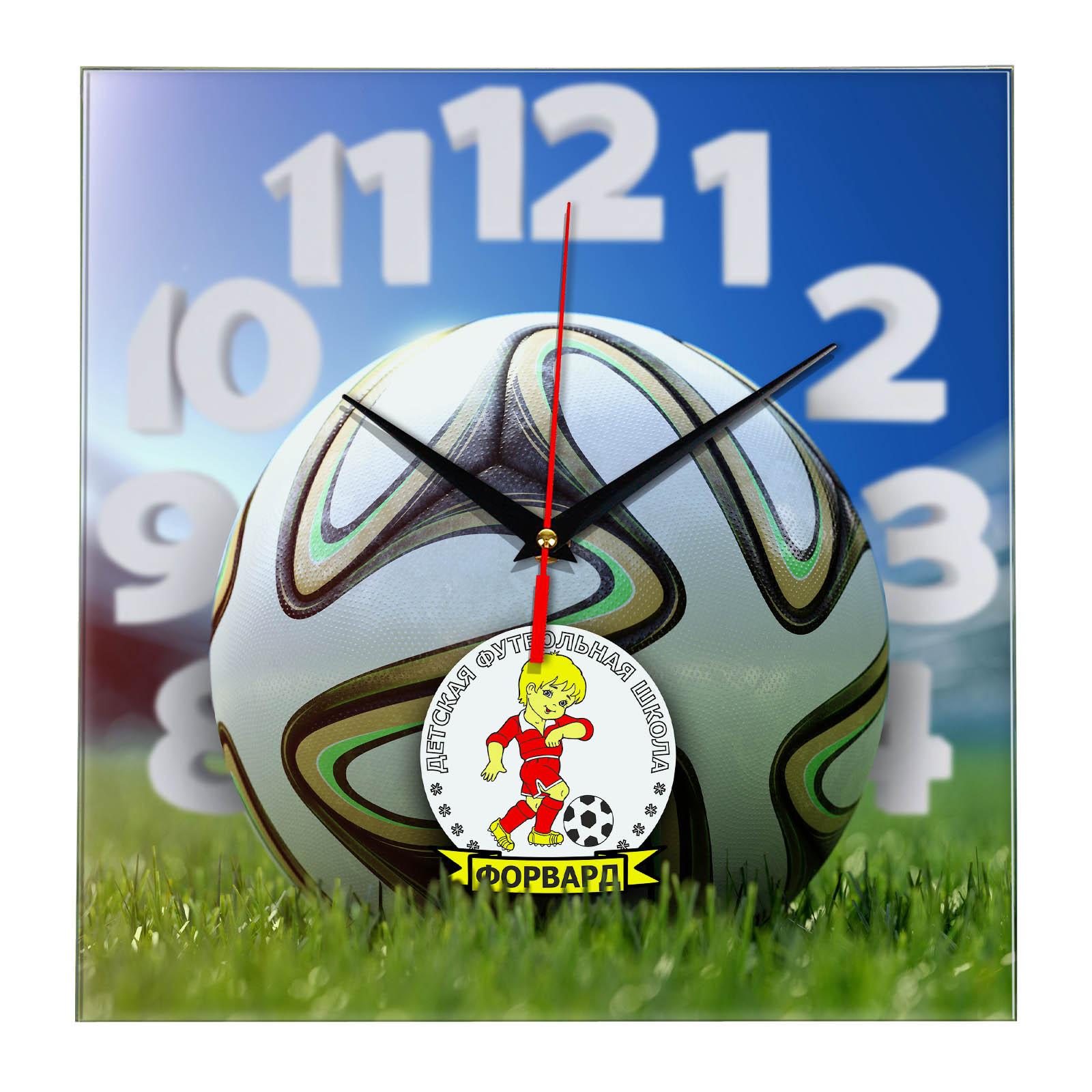 Настенные часы «На стадионе DFSH FORVARD»