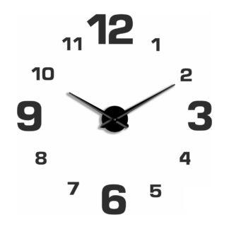Большие 3D часы черные 70-110 см