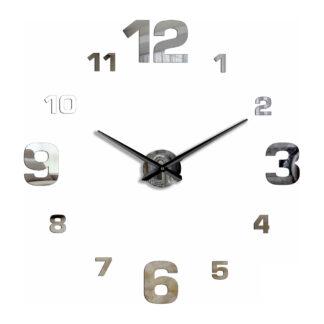 Большие 3D часы зеркальные 70 — 110 см