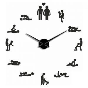 Большие 3D часы 3b 70-110 см