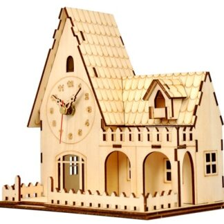 Часы «Домик с палисадником»