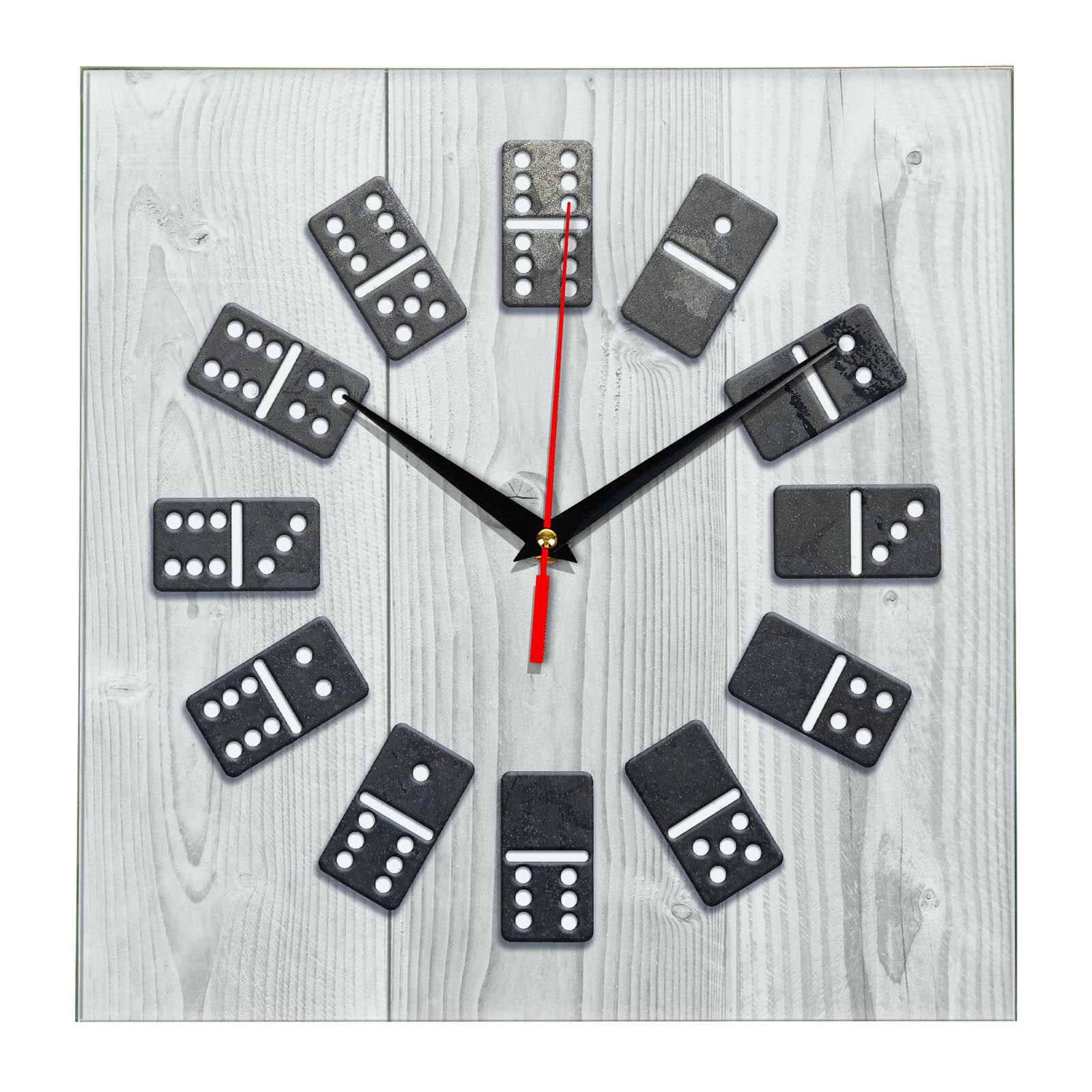Настенные часы Домино 1