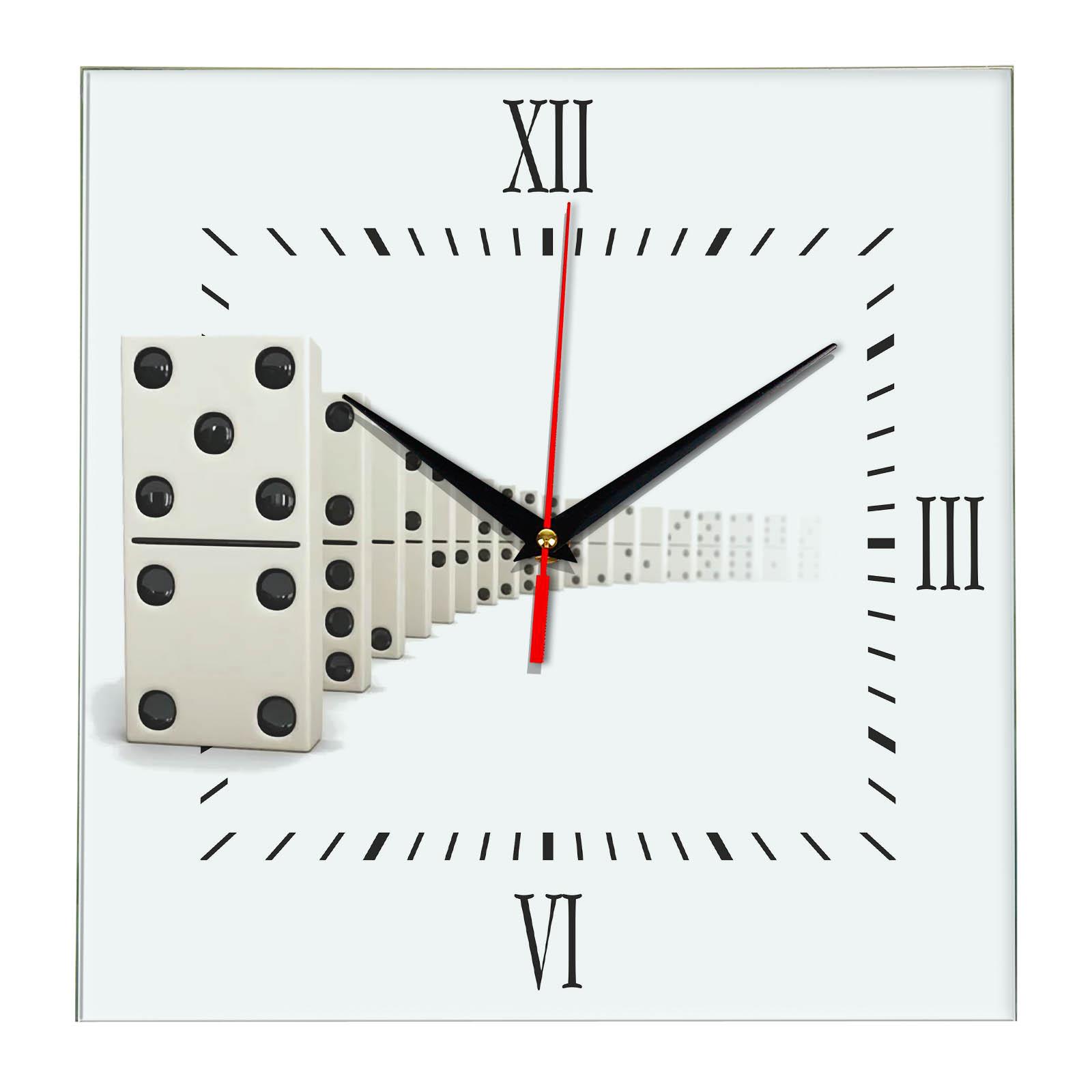 Настенные часы Домино 4