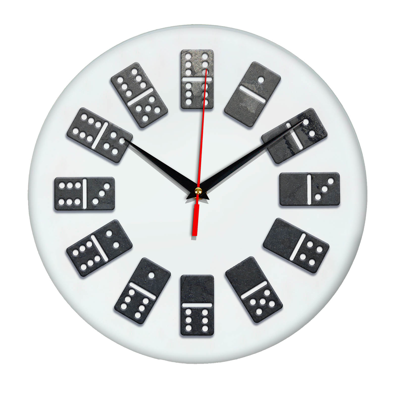 Часы на стену Домино 5