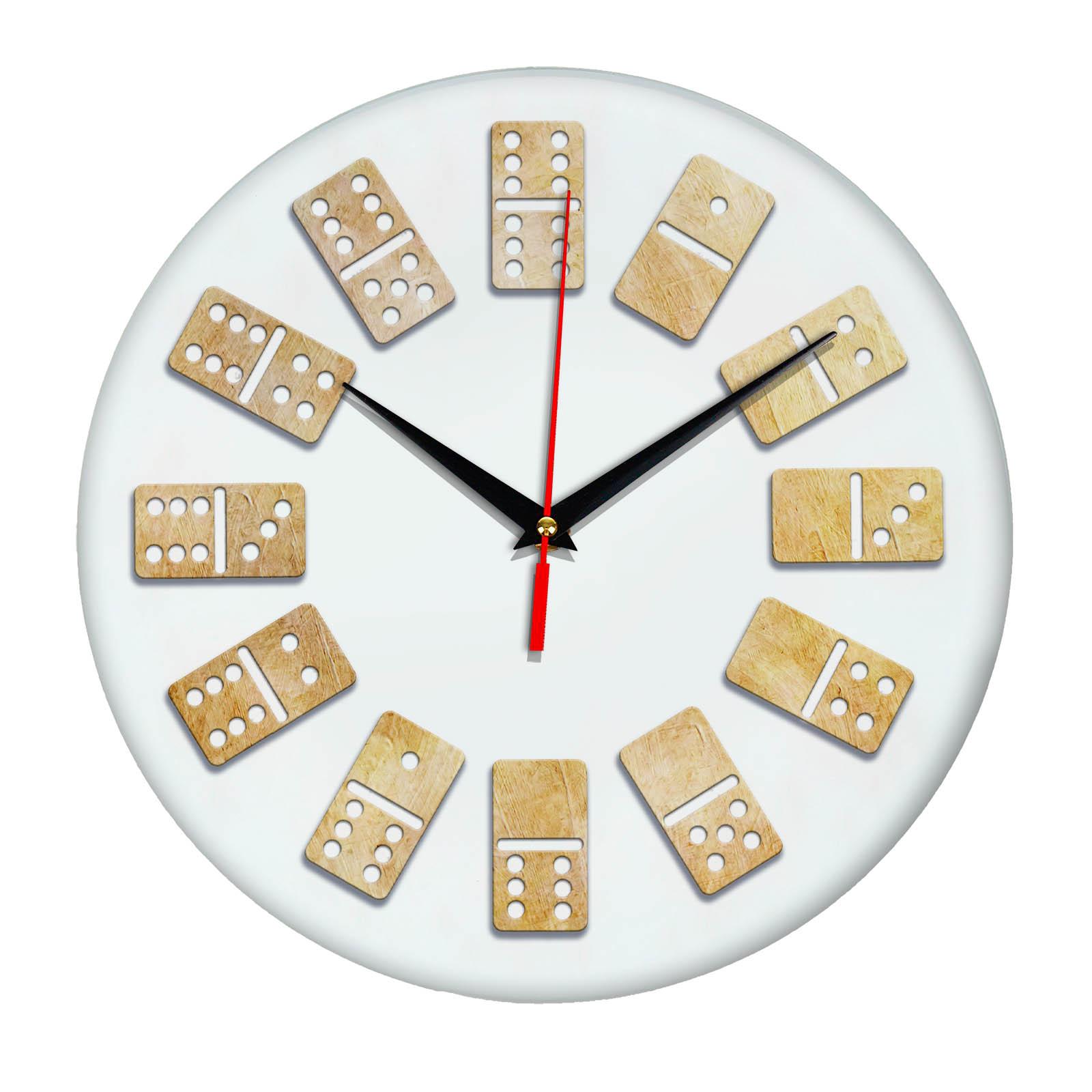Настенные часы кости Домино 6