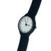 Наручные часы на заказ силиконовый браслет черные