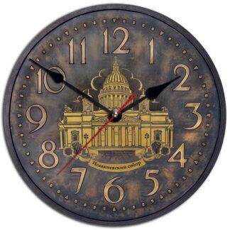Часы на стену «Ретро Исаакиевский Собор»