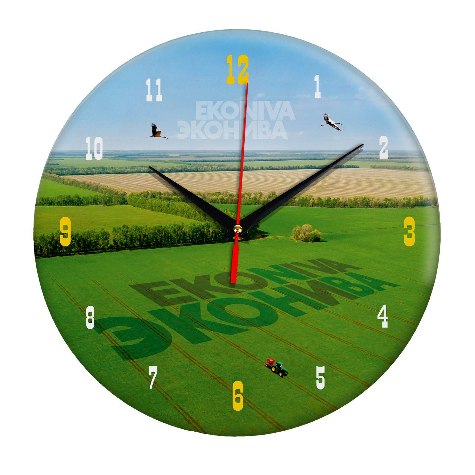 Настенные часы «econiva.tif»
