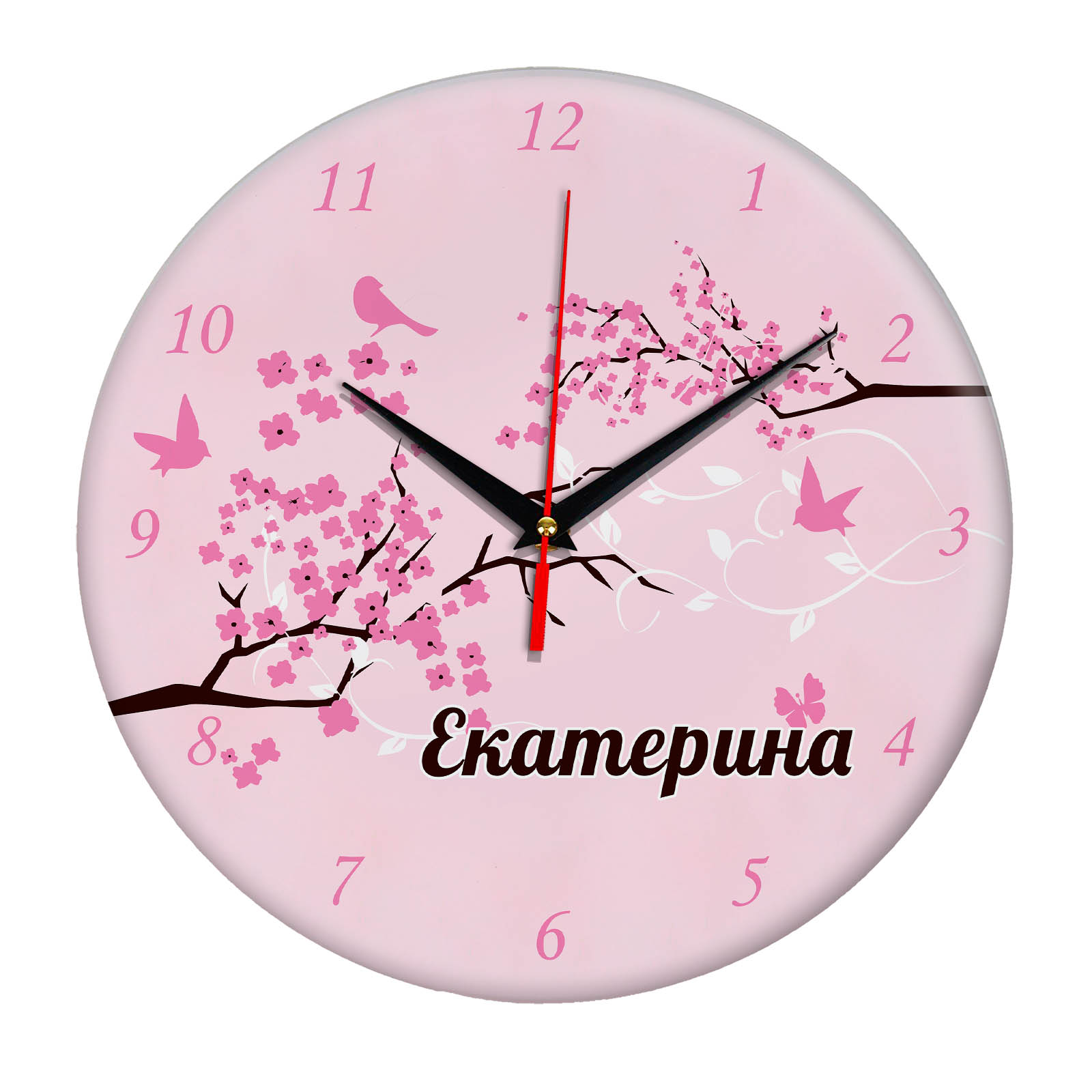"""Часы - именной подарок """"Екатерина"""""""