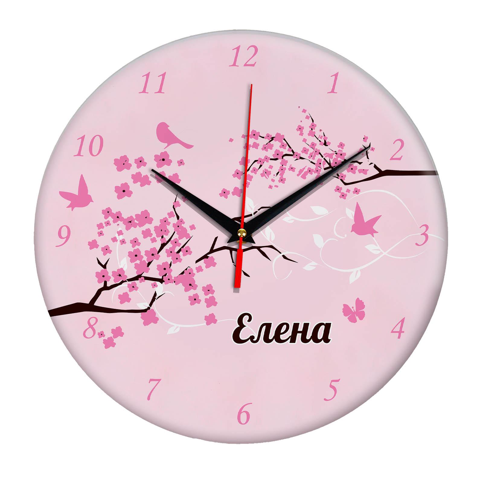 """Часы - именной подарок """"Елена"""""""