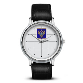 Наручные часы   «emblema-gerb-kaznacheystvo-na-sinem-fone-03»