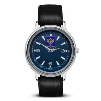Наручные часы   «emblema-gerb-kaznacheystvo-na-sinem-fone-14»