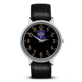 Наручные часы   «emblema-gerb-kaznacheystvo-na-sinem-fone-30»