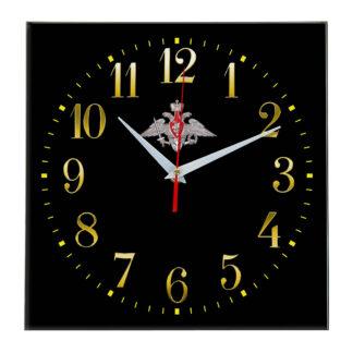 Настенные часы  «emblema-minoborony-02-35»