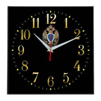 Настенные часы  «emblema-pograichnoy-sluzhby-02-35»