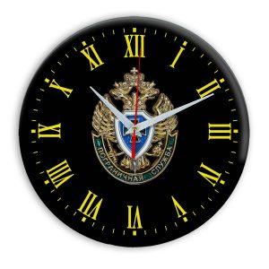 Настенные часы «emblema-pograichnoy-sluzhby-02-37»