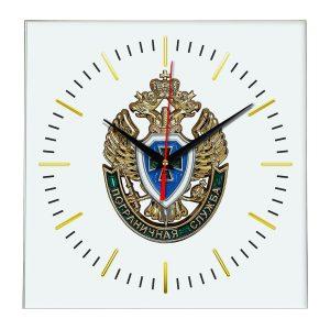 Настенные часы «emblema-pograichnoy-sluzhby-02-48»