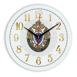 Настенные часы «emblema-pograichnoy-sluzhby-02-53»