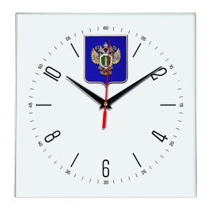 Настенные часы «emblema-prokuratury-chit-04»