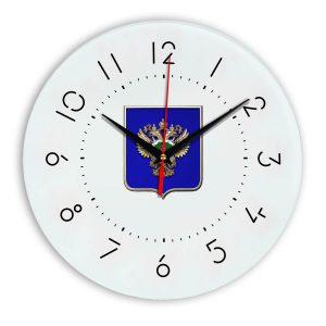 Настенные часы  «emblema-prokuratury-chit-05»