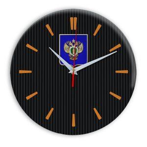 Настенные часы «emblema-prokuratury-chit-32»
