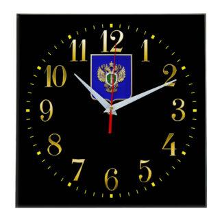 Настенные часы  «emblema-prokuratury-chit-35»