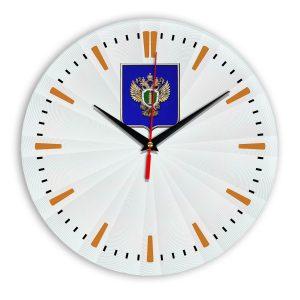 Настенные часы «emblema-prokuratury-chit-43»