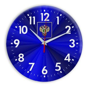 Настенные часы «emblema-prokuratury-chit-50»