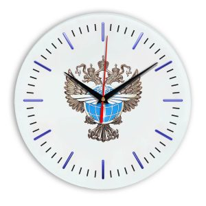 Настенные часы «emblema-rosaviacii-02-52»