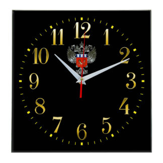 Настенные часы  «emblema-Rosrezerv-02-35»