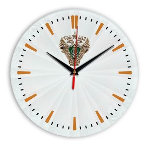 Настенные часы «emblema-rostehnadzora-02-43»