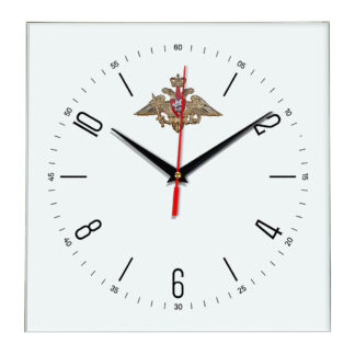 Настенные часы  «emblema-vooruzhennye-sily-03-04»