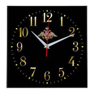 Настенные часы «emblema-vooruzhennye-sily-03-35»