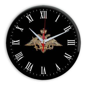 Настенные часы  «emblema-vooruzhennye-sily-03-36»