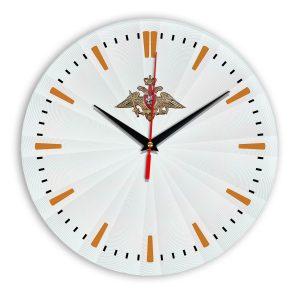Настенные часы «emblema-vooruzhennye-sily-03-43»