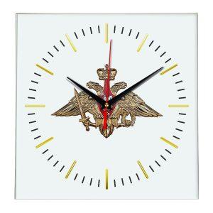 Настенные часы «emblema-vooruzhennye-sily-03-48»