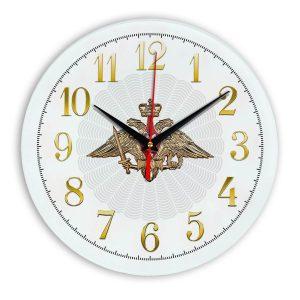 Настенные часы «emblema-vooruzhennye-sily-03-53»