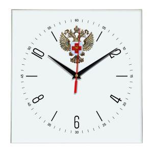 Настенные часы «emblema-zdravoohraneniya-02-04»