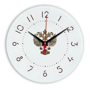 Настенные часы «emblema-zdravoohraneniya-02-05»