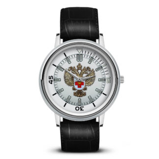 Наручные часы   «emblema-zdravoohraneniya-02-07»