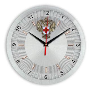 Настенные часы  «emblema-zdravoohraneniya-02-11»