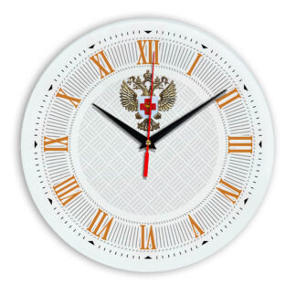 Настенные часы  «emblema-zdravoohraneniya-02-23»