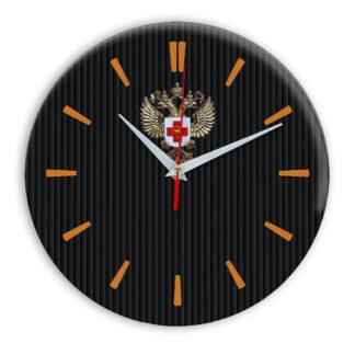 Настенные часы  «emblema-zdravoohraneniya-02-32»
