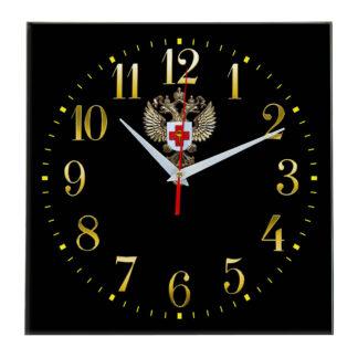 Настенные часы  «emblema-zdravoohraneniya-02-35»