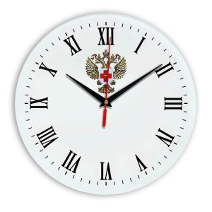 Настенные часы «emblema-zdravoohraneniya-02-39»