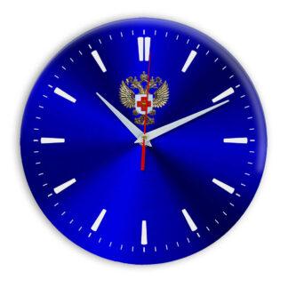 Настенные часы  «emblema-zdravoohraneniya-02-40»