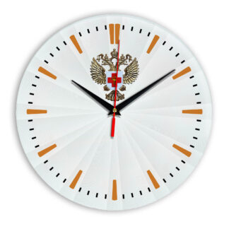 Настенные часы  «emblema-zdravoohraneniya-02-43»