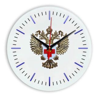 Настенные часы  «emblema-zdravoohraneniya-02-52»
